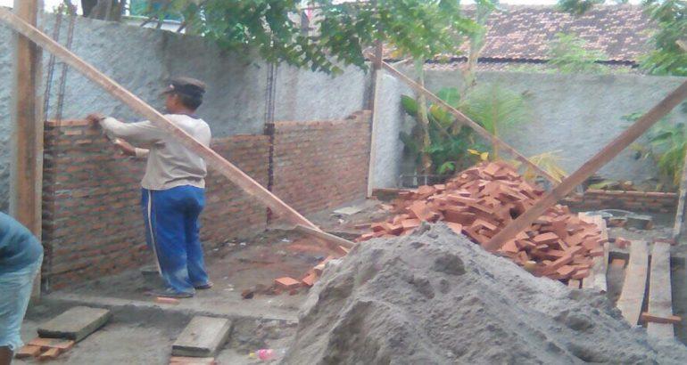 Pembangunan Poskesdes Desa Teluknaga