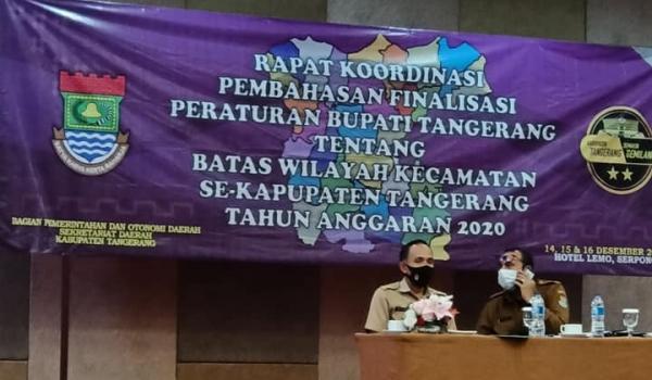 Rakoor Finalisasi Perbup Tangerang 2020